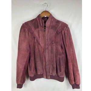 Dramatic Shoulder Soft Leather jacket
